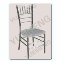Transparent/Clear/Ice Resin/Plastic Chivari Chair YM1103T