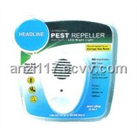 Ultrasonic Pest Repeller with night light