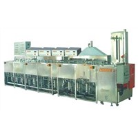 Ultrasonic washing machine used in optical/photoelectrical industry