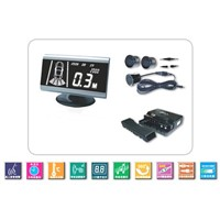 Voice+digital+ display parking sensor