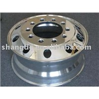 forged alloy truck wheel