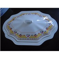 melamine bowl with cover