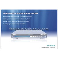 midi dvd karaoke player (m-688)