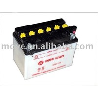 motorcycle and automobile battery