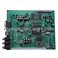 pcb assembly with enclosure