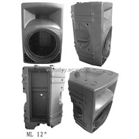 pro speaker-ML12 cabinet speaker/plastic sound box/audio