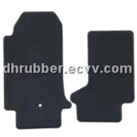 rubber auto floor mat
