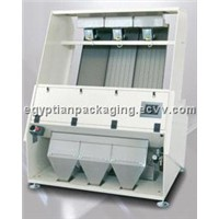 Optical color sorting machine