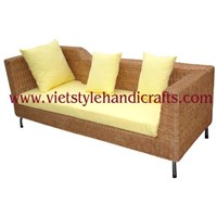 water hyacinth sofa bed