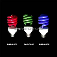 Colourful Energy Saving Lamps
