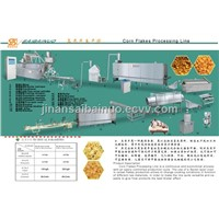 Corn flakes processing line
