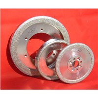 Diamond grinding wheels specialized for brake pads