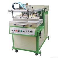 E4060A Pneumatic Oblique Arm Screen Printing Machine with Vacuum Worktable