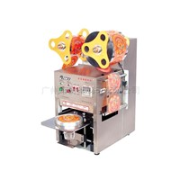 Fully auto stainless steel cup/tray/bowl sealing machine