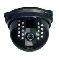 IR dome camera with 18 IR leds