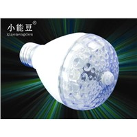 LED PIR honeycomb bulb