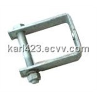 Metal fitting-D-Iron