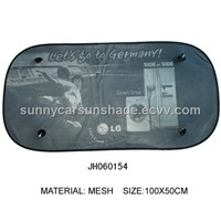 Nylon Mesh Car Rear Window Sunshade