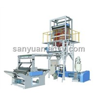 PE heat shrink film extrusion machine