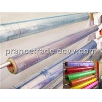 Soft transparent or color PVC films