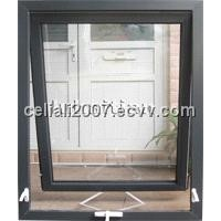UPVC awning window with crank system