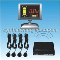 Wireless LCD Parking Sensor System with 4 Sensors
