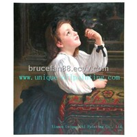 oil painting, classical oil painting, oil paintings reproduction