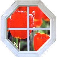 upvc windows & doors---FIXED ROUND WINDOW