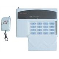 wire and wireless compatible alarm control panel