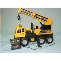 Remote Control Super Crane with Light & Sound