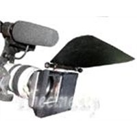 Matte box with french flag for DV and HDV cameras