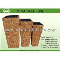 water hyacinth flower pots