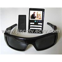 Secret SPY Camera MP3 MP4 Player Sunglasses 1GB 2.4'LCD