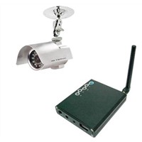 2.4GHz Waterproof & Outdoor SHARP CCD Wireless USB Camera(SW-WR612)