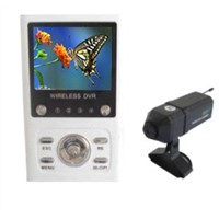 2.4GHz Wireless DVR Camera With Compact A/V Receiver