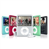 "2.4"" Wide Screen MP4 Player With Color Metal Housing"