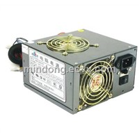 400W Computer power supply with fans