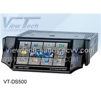 "5"" One din Full motorized car dvd player / Car monitor / Car GPS navigation (VT-DS500)"