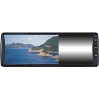 7inch  rearview LCD mirror monitor with memory card