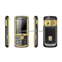 A800 Golden Mobile Phone