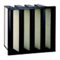 Air filters-V shape air filters