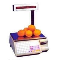 Barcode(label) printing scale