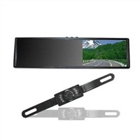 Car Security System with 3.8-inch Digital TFT-LCD Rear View Mirror Monitor