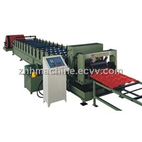 Color Glazed Steel Tile Roll Forming Machine