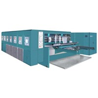 Computerize Flexo Printing Slotting Die Cutting Machine
