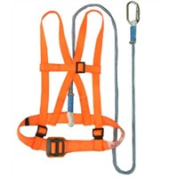 Fall prevention safety belt