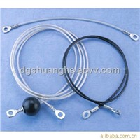 Fitness equipment cable assemblies