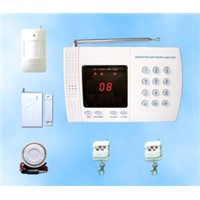 Learning code 8 wireless zones home alarm system china supplier in shenzhen