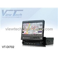 One DIN in-dash Car DVD Player + Car GPS Navigation System (VT-DI702)