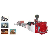 PVC/PE/PP Wood-plastic Common Extruding Production Line